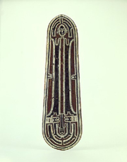 Ceremonial shield, Solomon Islands, UEA 632